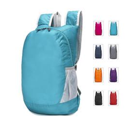 Folding backpack ultra-light waterproof camping bag men women skin package outdoor mountaineering travel bags New Arrivals wholesale