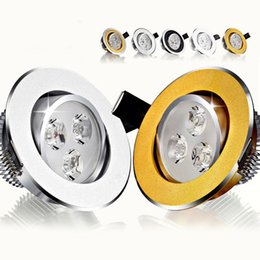 Recessed LED down light 3W 5W 7W 9W 12W 15W 18W Ceiling Wall Spotlight lamp For Home, live room With AC110-240v Driver