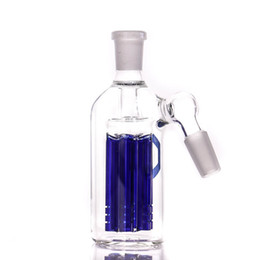 mini ash catcher hot sale Wholesale high quality 14.5-14.5mm blue 6 arm tree perc ash catcher for water pipe