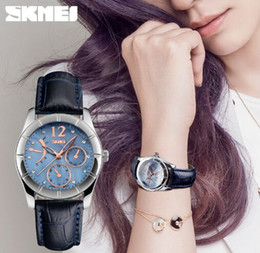 Skmei Fashion Women and Girl 3ATM Quartz Wrist For Christmas Gift 6911