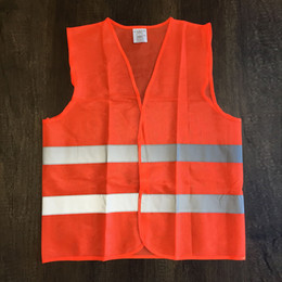 Size 63x68cm for Car Reflective Vest Working Clothes Provides High Visibility Day Night For Running Safety vest free shipping 20118 new hot