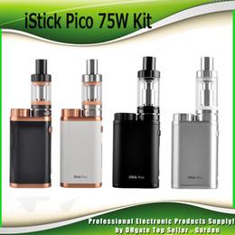 Original iStick Pico starter Kit Firmware Upgradeable With 75W iStick Pico TC Box Mod 2ml 4ml Mleo III 3 Mini Tank 100% Authentic