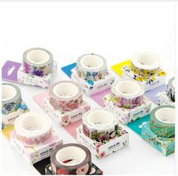 Cute Kawaii Plants Flowers 2016 Japanese Masking Washi Tape Decorative Adhesive Tape Decora Diy Scrapbooking Sticker Label Stationery
