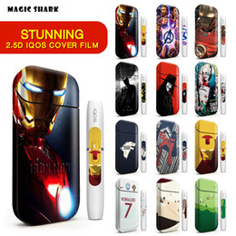 High Quality IQOS Skin Sticker 2.5D Stereo Film For IQOS 2.4 Plus 3M Printing Cover PVC IQOS Skin Case Sleeve Decorative Protective Sticker