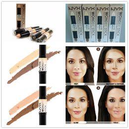 STOCK NYX Wonder Stick Concealer Eye Face Makeup Cover Women Med Tan Highligher 4 Colors