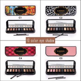 zouyesan Free Shipping 2018 Europe and the United States 10-color eye shadow matte smoke-colored earth-colored pearl eye shadow lasting SUMI