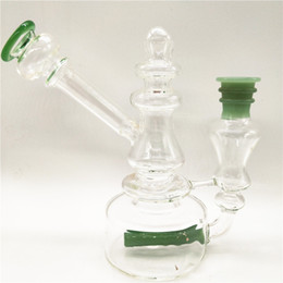 Mini Glass Bong Water Pipe Dab Rig Oil Rig Wholesale Smoking Pipe Low Price Waterpipe for Smoking