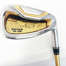 New Golf Clubs Set HONMA S-06 4Star Golf Iron Set 4-11SwAw HONMA Golf Clubs Graphite shaft With HONMA Is-06 irons HeadCover Free shipping