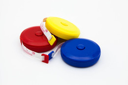 150CM Mini Measuring Tape Measure Retractable Metric Belt Colorful Portable Ruler Centimeter Inch Children Height Ruler free shipping 2018