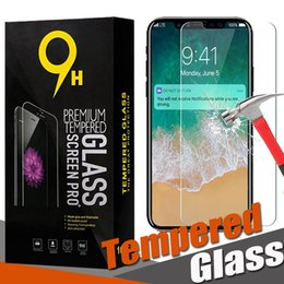 Tempered Glass Screen Protector Film Guard 9H Premium Explosion For iPhone 11 Pro Max XS XR X 8 7 6 6S Plus With Retail Box
