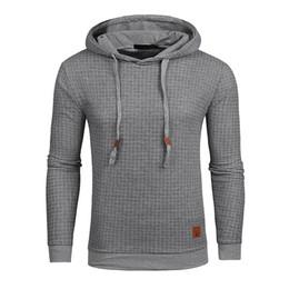 Hoodies Men Long Sleeve Solid Color Hooded Sweatshirt Male Hoodie Casual Sportswear US Size