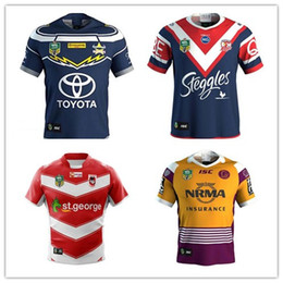 Top ST GEORGE DRAGONS 2018 Away JERSEY New products are listed, top quality , free delivery. 2018 BRISBANE BRONCOS heritage Rugby size S--3