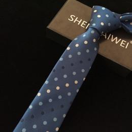 2018 new British style elegant retro small floral yuppie casual men narrow tie 6CM