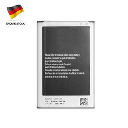 N9000 For Samsung Galaxy Note 3 High Capacity Replacement Battery Lithium Rechargeable Batteries B800BE Fast Shipping Germany Stock