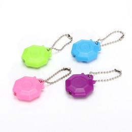 Led Keyring Mini Torch Custom Promotional Gift Plastic Mini Key chain White LED Lights UV LED Light