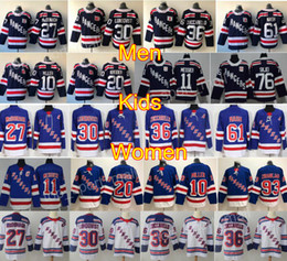 2018 Winter Classic New York Rangers Hockey 10 Jeff Miller Jersey 11 Mark Messier 20 Chris Kreider 76 Brady Skjei Mika Zibanejad Blue White