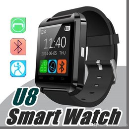 Smart Watch U8 U Watch Smart Watches For iOS Apple Smartwatch iPhone Samsung Sony Huawei Android Phones Good A-BS