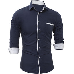 Mens Plaid Shirt For Long Sleeve Fashion Business Casual For T Shirts Slim Mens Dress Shirts Drop Shopping