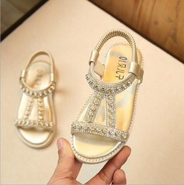 2019 summer new princess sandals water drill children baby beach shoes