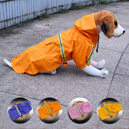 Sausagegiant Breed Dog Clothes S M L XL Reflective Rain Gear Clothes Water Ressistant Sweaters for all Types of Pet Dogs Small Large