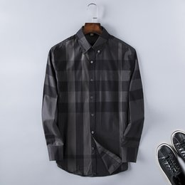 2018 Brand Men's Business Casual shirt mens long sleeve striped slim fit camisa masculina social male shirts new fashion shirt #2334