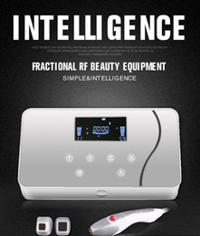 Portable Professional Intelligent Fractional Dot Matrix RF Radio Frequency Skin Lifting Tighten Anti-aging Wrinkle Removal Facial Skin Care