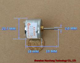 Brand new 19mm long shaft 6V-12V 310 micro DC motor 23.7*18mm 30mA motor ~