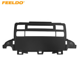 FEELDO Car Frame Panel Fascia For Toyota Prado 120 J120 Radio DVD Stereo Panel Dash Mounting Installation Trim Kit Face Frame #3636