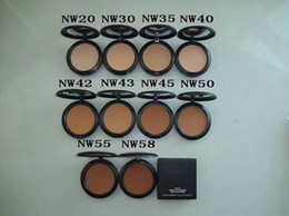 mix NC NW Colors Makeup Studio Fix Face Powder Plus Foundation compact foundat face powder puffs 15g makeup face powder free shipping