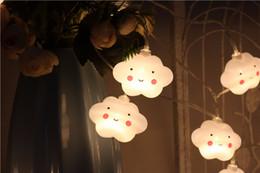 Led lights christmas decoratio Ins burst models cloud string led string battery section string lights children's party decoration