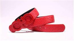 2018Free shipping new fashion lea4ther belts women men belts waist belts men's