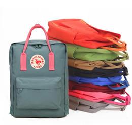 kanken classic mini waterproof backpack rucksacks unisex canvas students shoulder Student bags handbags Schoolbag Girl boy