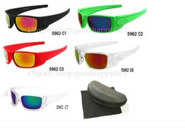 New style 10pcs lot New For Men women Sunglasses with box Outdoor Sport sunglasses many colors Google Glasses.