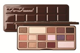 Too 16 Color Huda Faced Chocolate Bar Eye Makeup Palette Golden Brown Naked Eye shadow Palette Best Eyeshadow Palette