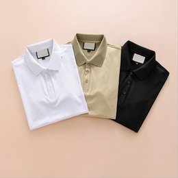 2018 classic fashion men's and women's T-shirt designer spring and summer models breathable men's and women's T-shirt short-sleeved E1