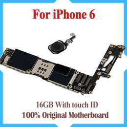 16GB Original Unlocked for iPhone 6 Motherboard with Touch ID,Fingerprint Idetification Function for iPhone 6 Logic Boards