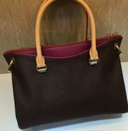 2018,Famous Brand Luxury Shoulder Bag Genuine Leather bag Women bag Brand Shoulder Bags Lady Brand Handbag M40908 M40906M43705 With Straps