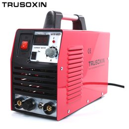 Mini 220V portable inverter DC IGBT TIG+MMA 2 in 1 DIY welding machine welding equipment welder with accessories