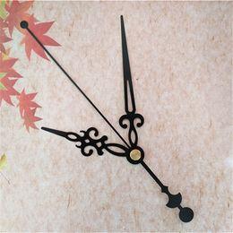 Wholesale Hot 50PCS Large Size Black Metal Hands DIY Clock Repair Kits Free Shipping From Chinese