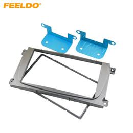 FEELDO Car Radio Stereo DVD Frame Fascia Panel Installation Kits For Ford Mondeo Focus C-Max S-Max Galaxy II Kuga #1828