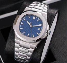 AAA2018hot sale luxury watch High Quality Sapphire Glass Stainless Steel Nautilus Mechanical Luxury Brand Watch for men fashion and classic