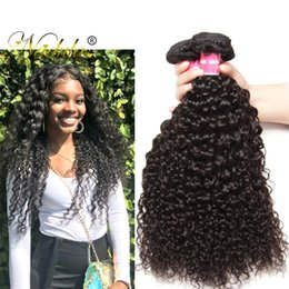 Nadula 8A Virgin Hair Malaysian Curly Wave 4 Bundles Remy Human Hair Extensions Kinky Curly Hair Weave Bundles Wholesale Curly Weaves Cheap