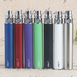 10Pcs lot eGo t Battery 510 eGo-t Vape Pen 650mah 900mah 1100mah Vaporizer Batteries For eCig CE3 CE4 CE5 Cartridges USB Charger ePacket