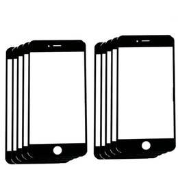"""high quality Replacement LCD Front Touch panel Glass Outer Lens for iPhone 7 7G 4.7inch   7 Plus 5.5"""" Black White colour"""