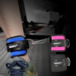 Fitness Foot Ring Ankle Straps Foot Support Ankle Protector Gym Leg Pullery Buckle Sports Feet Guard Fast Shipping