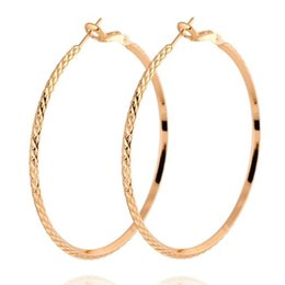 Trendy Women Big Hoop Earrings European Punk Earrings Party Wedding Prom Anniversary Festival Costume Jewelry Accessories