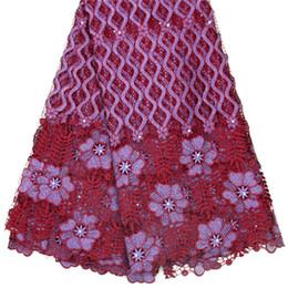 High-quality Swiss lace, pure cotton Swiss lace, used in African sewing clothing, evening dress sy1072