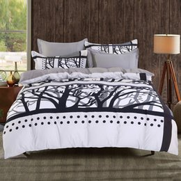Wannaus New 3D Bed Set 60S Cotton High Quality Classic Film 4-Piece Duvet Covers set Comforter Cover set