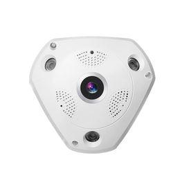 SEMEE 3MP 1080P Wifi IP Camera 360 Degree Fisheye Lens Wifi Panoramic Camera CCTV Camera Night Vision Support TF Card Baby Monitor