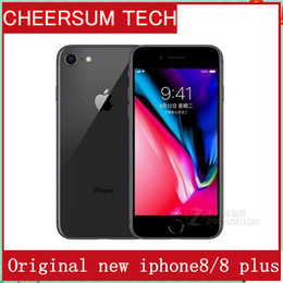 Unlocked Original Apple iPhone 8 Plus 4G LTE Cell phones 3GB RAM 64 256GB ROM 5.5' 12.0 MP Hexa-core Fingerprint Mobile phone